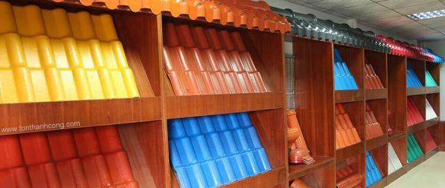 Tôn Nhựa Hợp Hưng - Kiểu dáng sóng ngói cổ điển